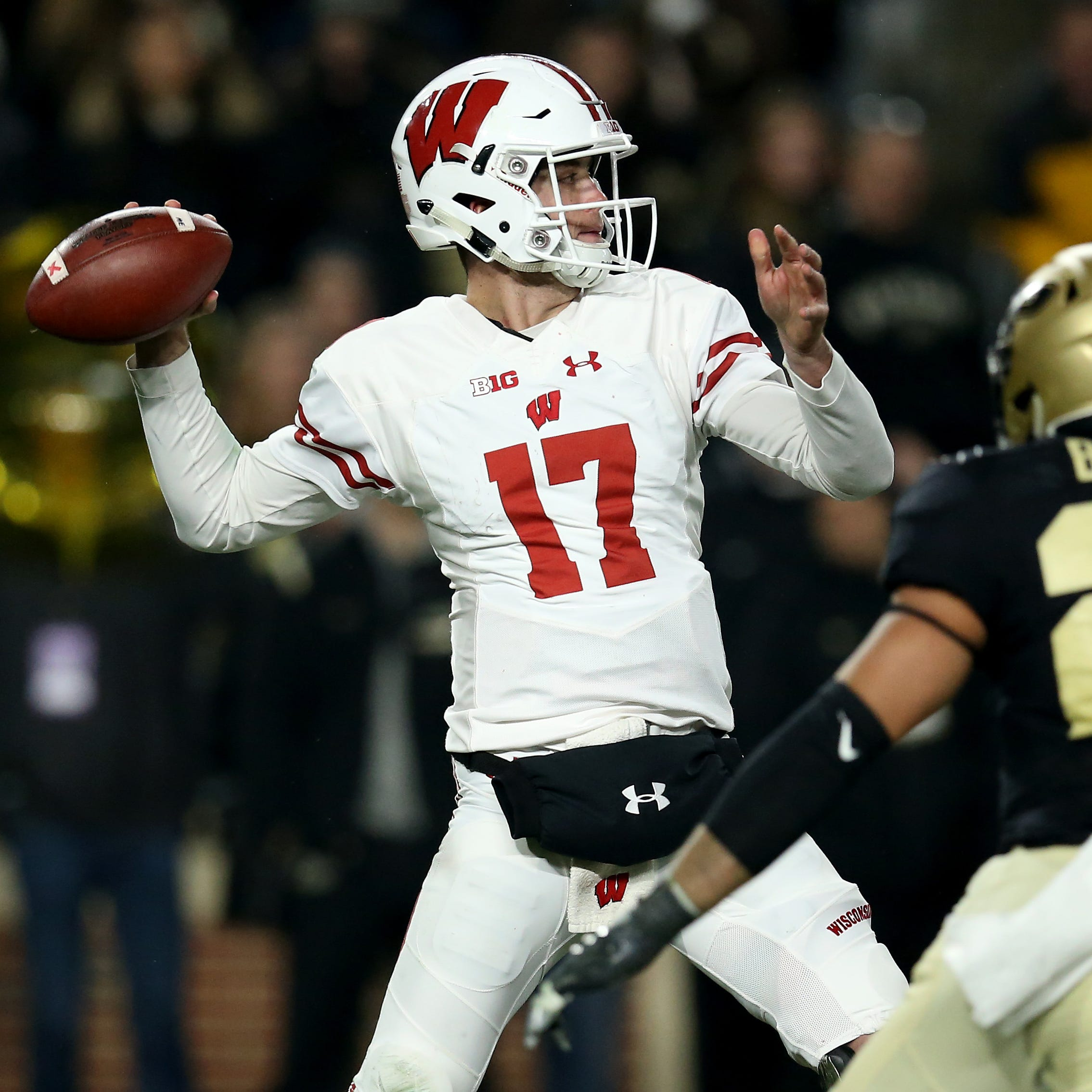UW's Jack Coan made gains at Purdue and is ready to step in for Alex Hornibrook again