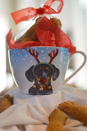 Don't forget the pooch - your party host's dog will love these homemade biscuits.