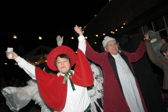 A Dickens of a Village runs from 4 to 9 p.m. Nov. 30 in downtown Greendale. Betty Ferchoff is co-chairwoman of the event.