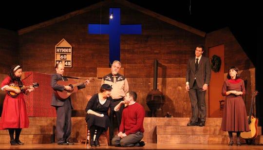 "Acacia Theatre performs the bluegrass gospel musical ""Sanders Family Christmas"" through Dec. 2 atConcordia University Wisconsin's Todd Wehr Auditorium, 12800 North Lake Shore Dr., Mequon."