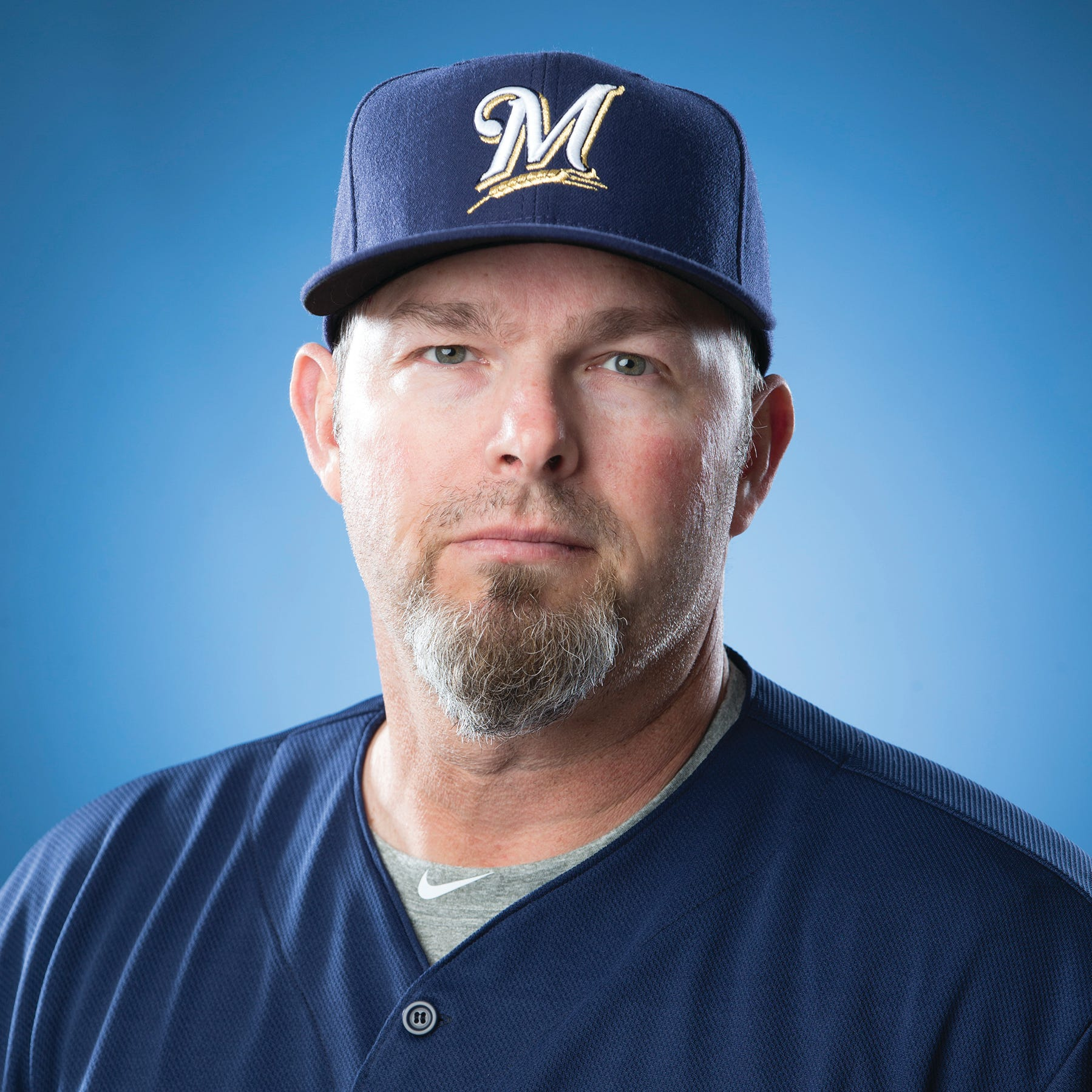 Chris Hook, coach in the Milwaukee Brewers organization.