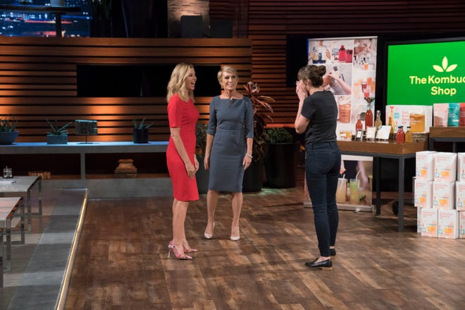 """The owner of Madison-based The Kombucha Shop struck a deal on """"Shark Tank"""" with Barbara Corcoran and guest-shark Sara Blakely, the founder of Spanx."""