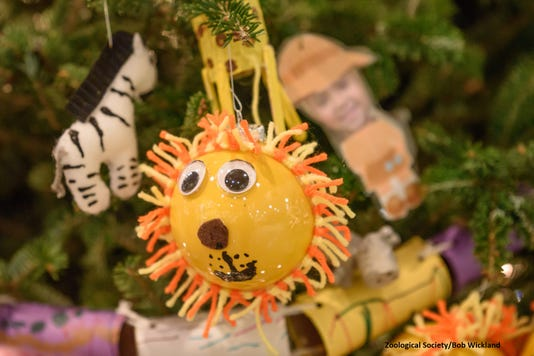 Animal Ornaments By Local Kids