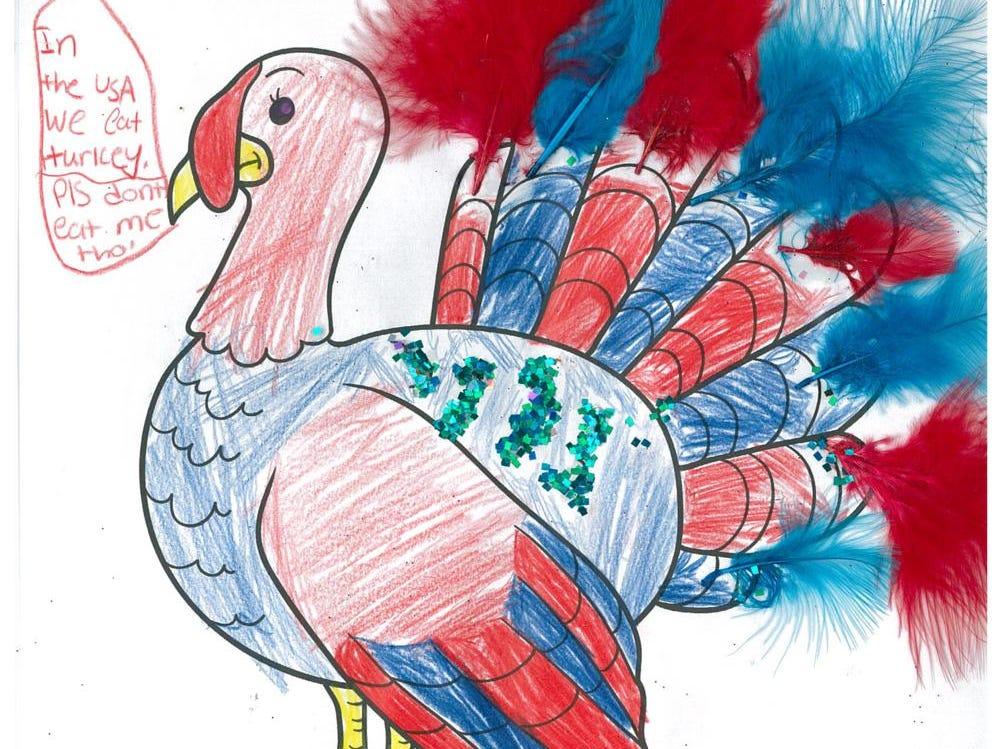 Rawan. Dress The Turkey Contest 2018.