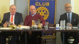 The Dover Rotary Club meets to discuss several fund-raising efforts for victims of the Oct. 22 fire in Dover. Nov. 19, 2018