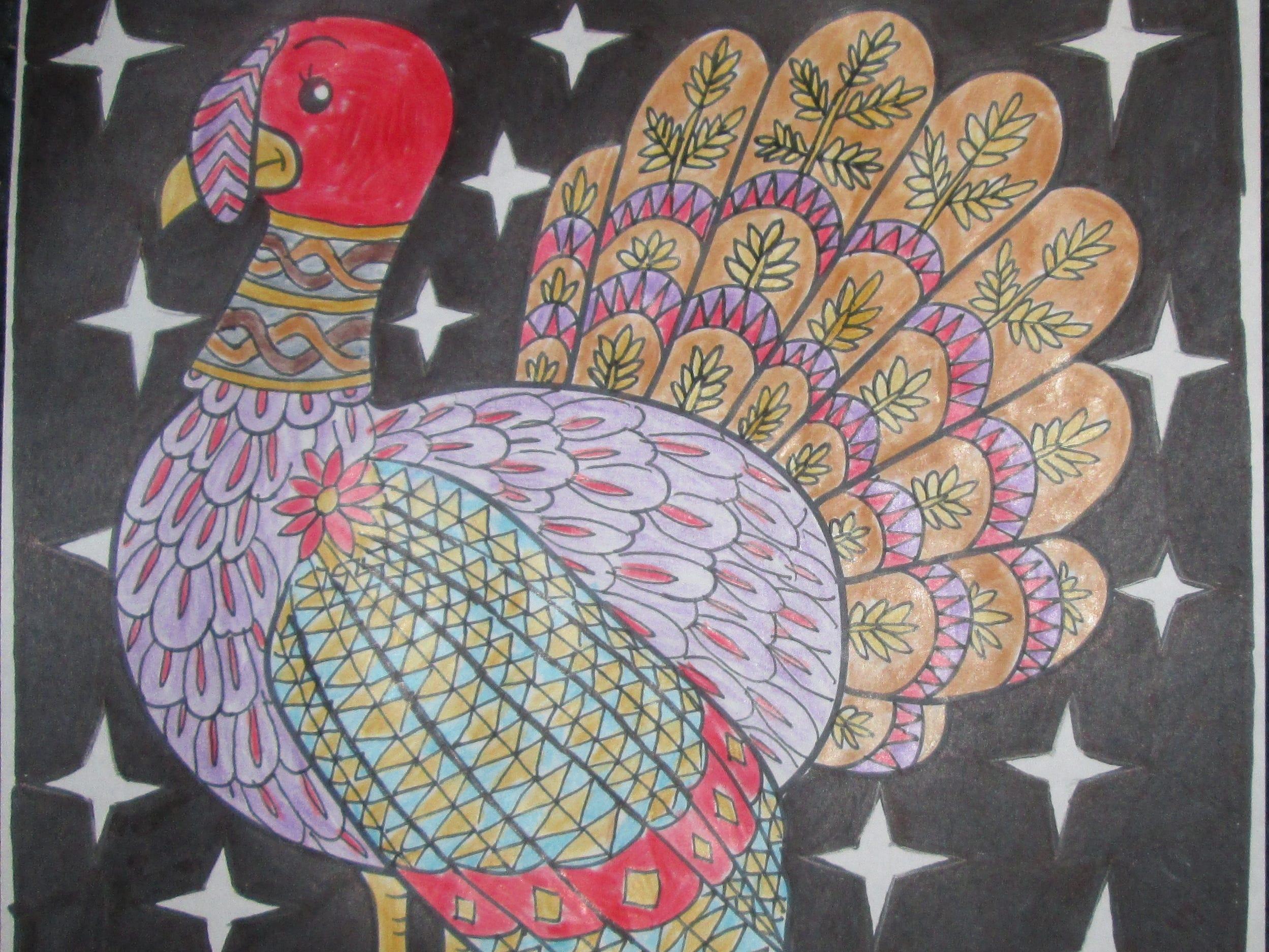 T. De Los Reyes. Dress the Turkey Contest 2018.