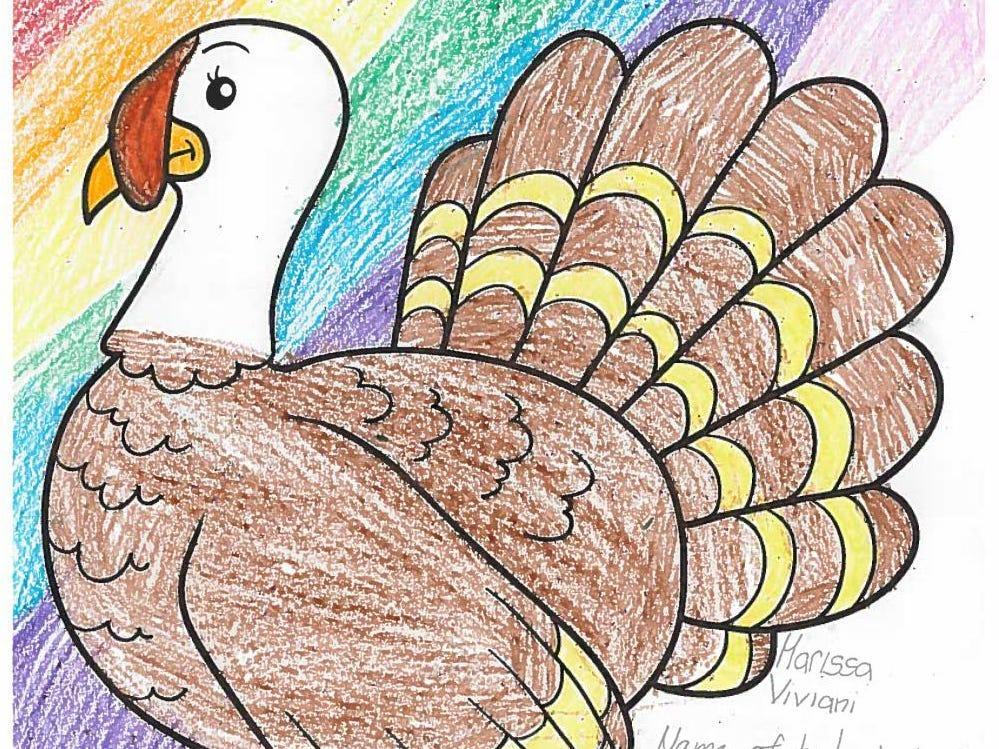 Mr. Gobbles by Marissa Viviani. Dress The Turkey Contest 2018.