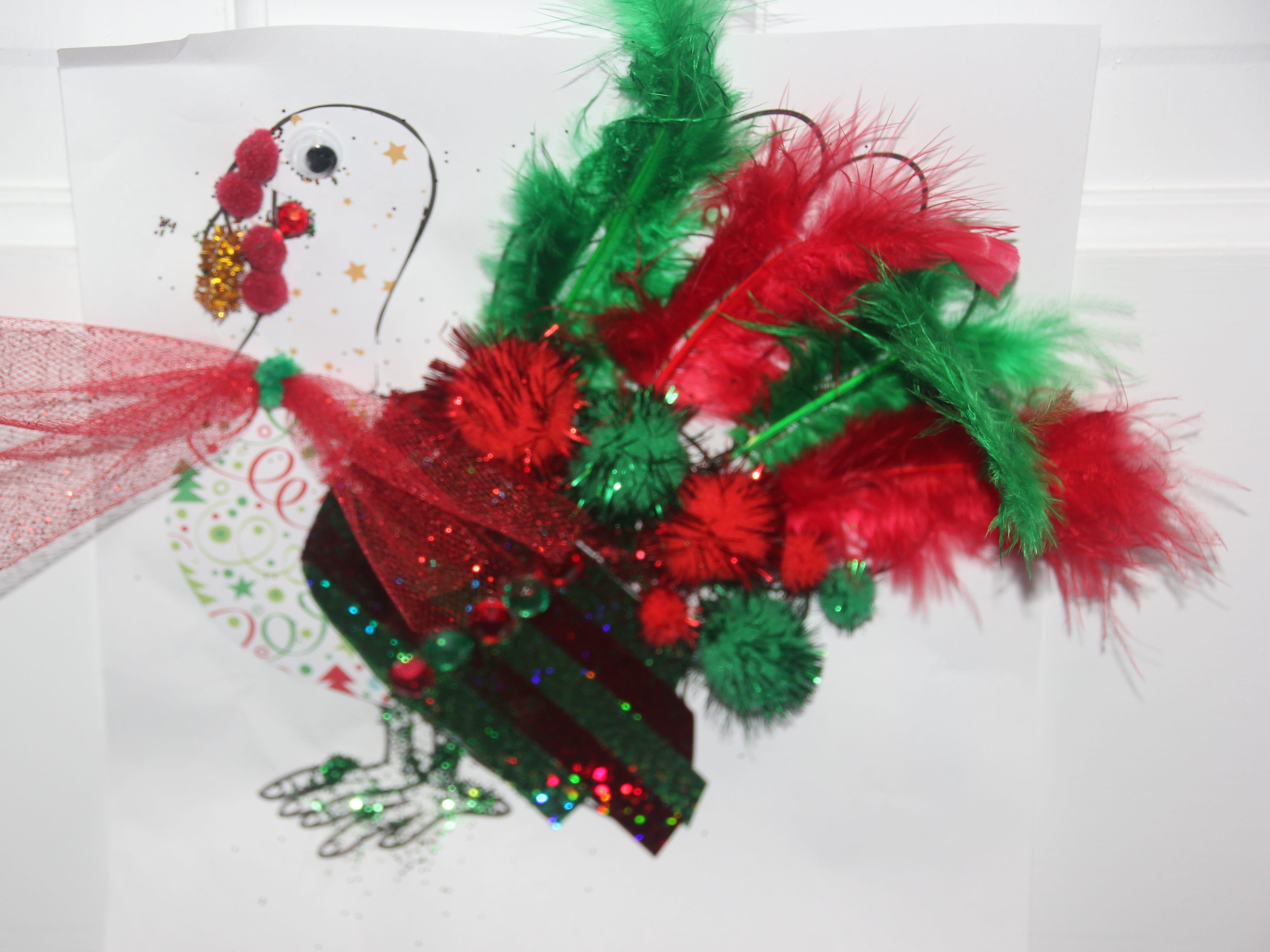 K. Pressler. Dress the Turkey Contest 2018.