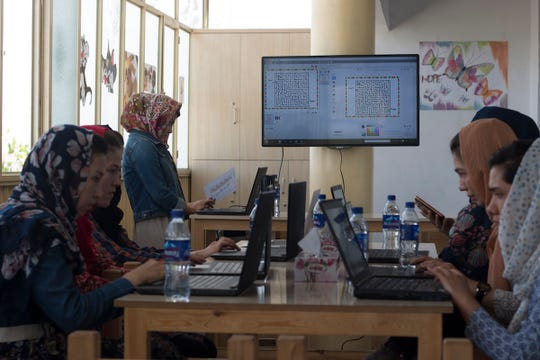 Drew University computer science student Bahara Mohammadi created a program to help women in her native Afghanistan learn how to code.