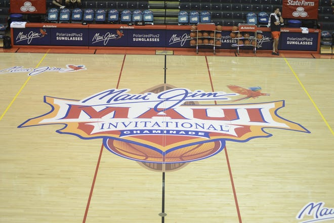 The court at the Maui Invitational.
