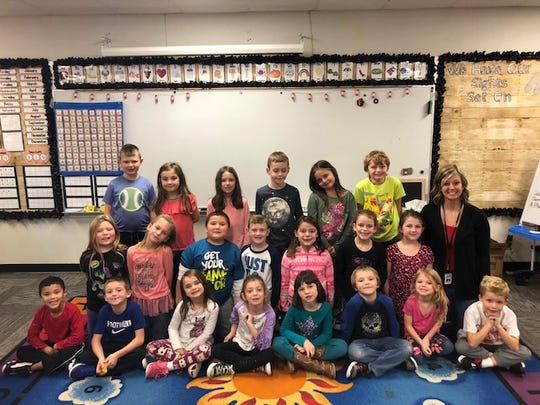 Mrs. Sites' first-grade class at Selma Elementary School