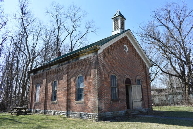 Five Ball State University historic preservation and architecture students won second place in the 2018 Charles E. Peterson Prize Competition for their project creating a historical record of the 1862 Southgate Schoolhouse in West Harrison, Ind.