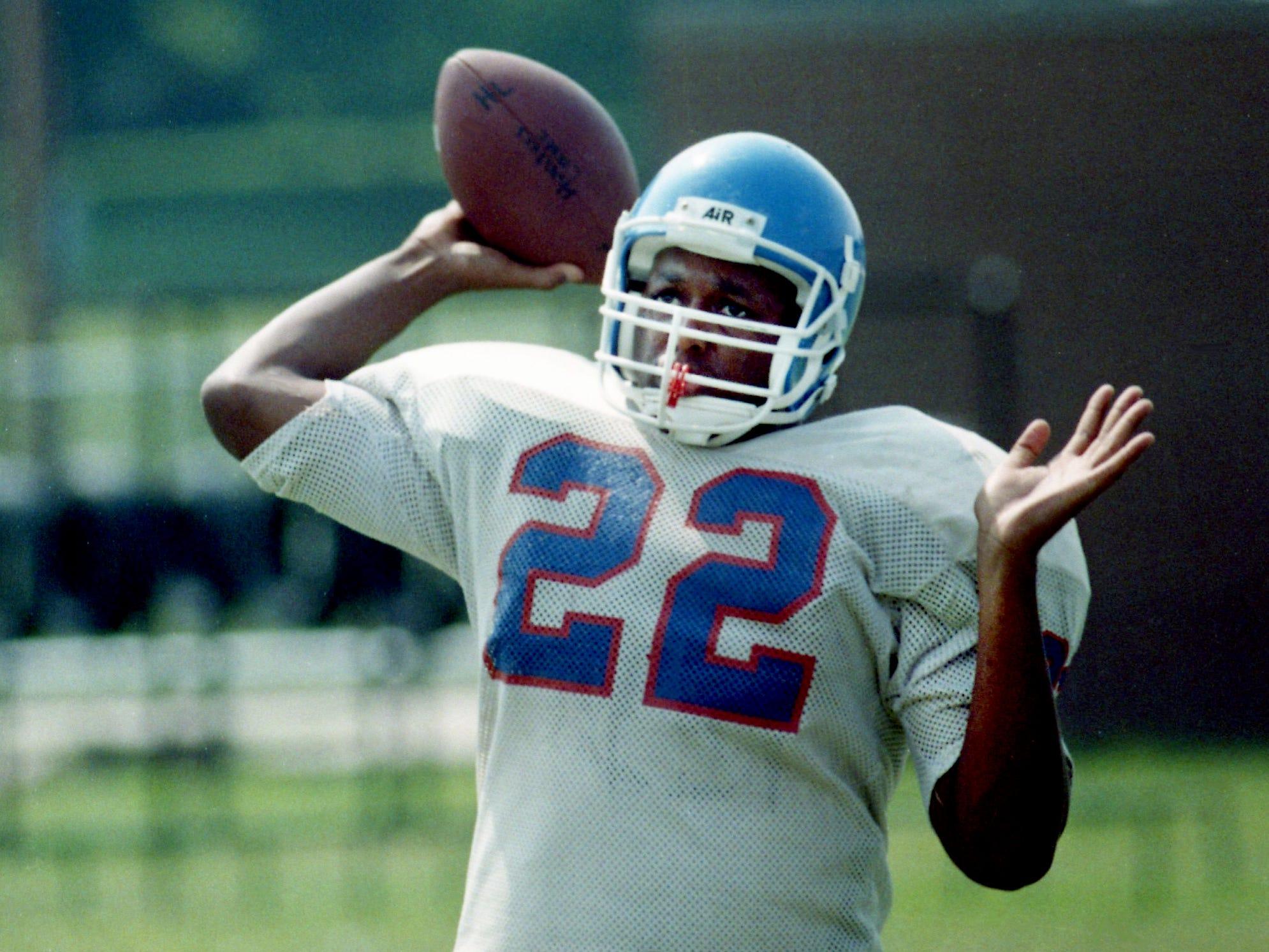 Reggie Grimes, Hunters Lane, QB/RB/DE 1992-94