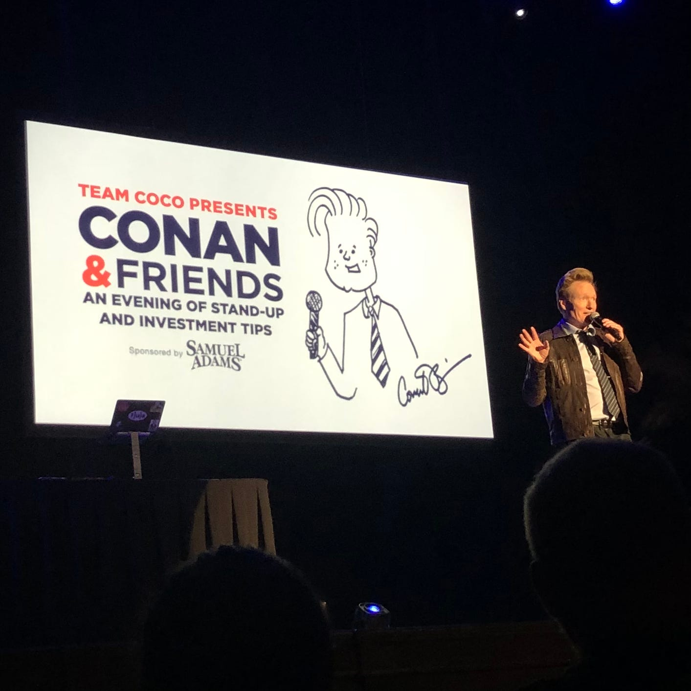 Conan O'Brien makes fun of Predators, Parthenon and more in Nashville