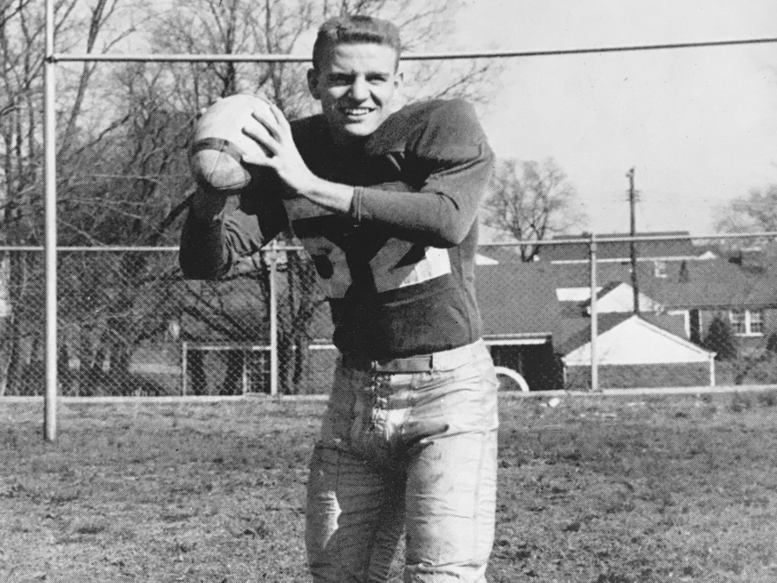 George Volkert, Litton RB/P/PK 1950-52