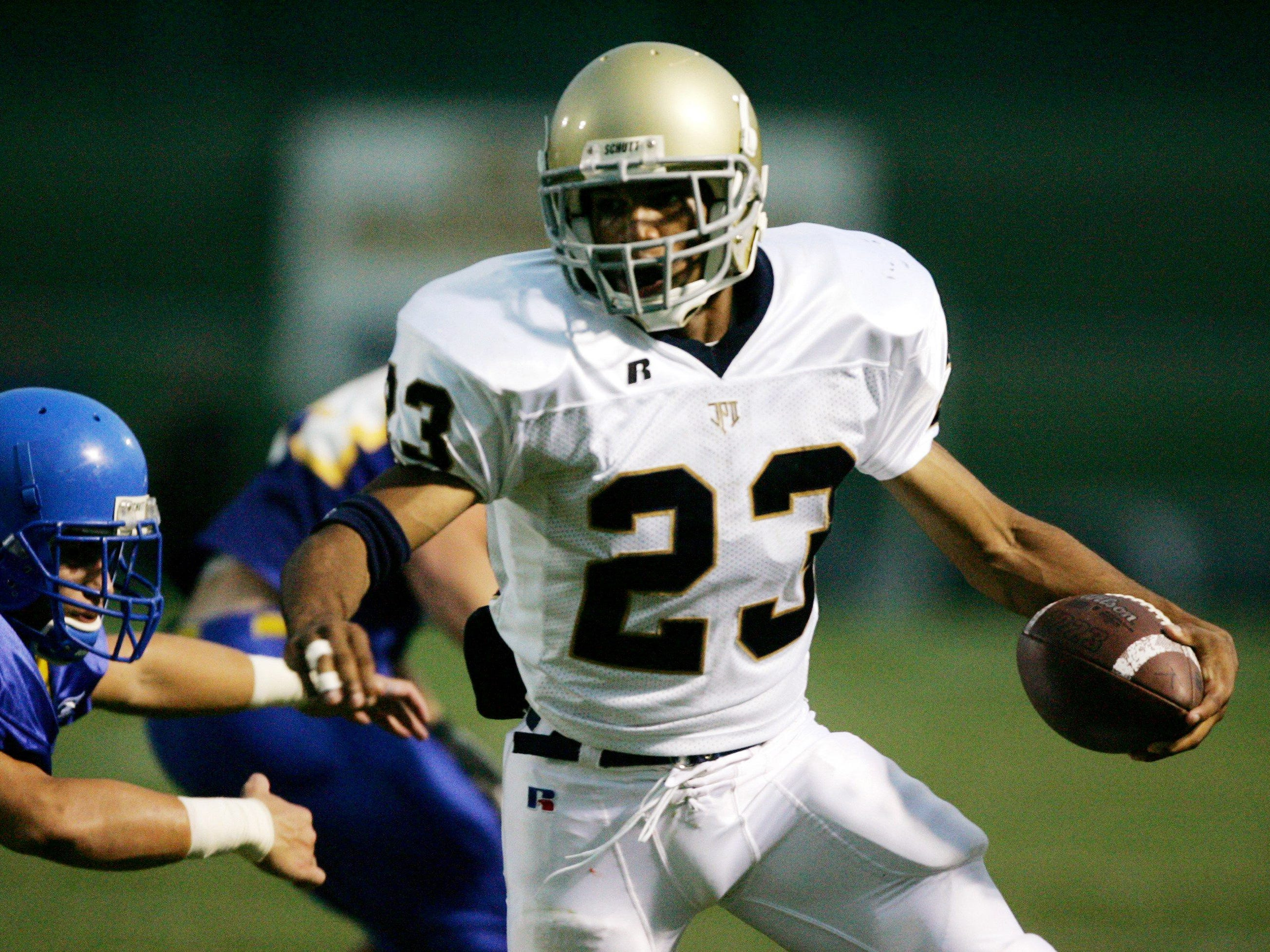 Golden Tate, Pope John Paul II RB/WR 2004-06