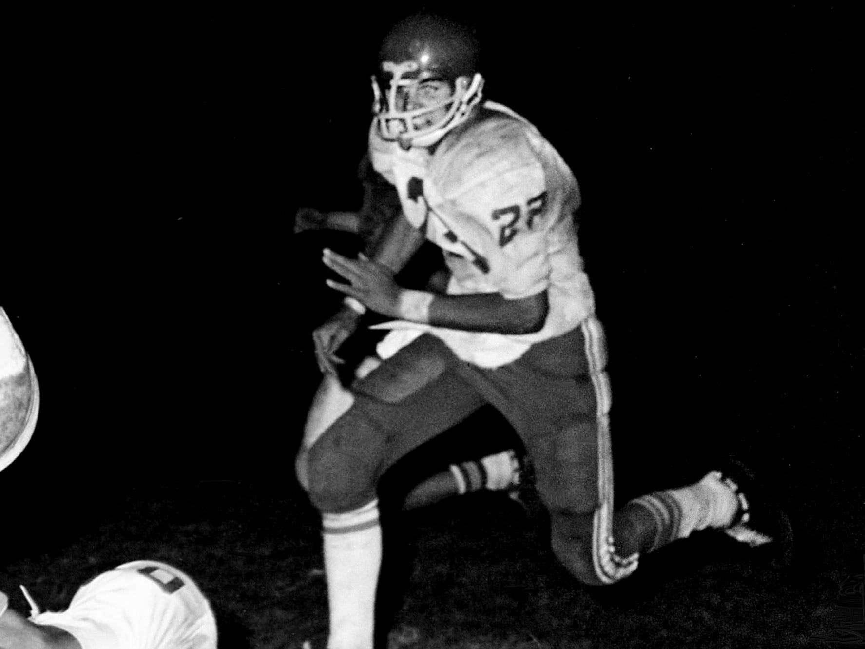 Greg Gaines, DuPont RB/DB 1973-75