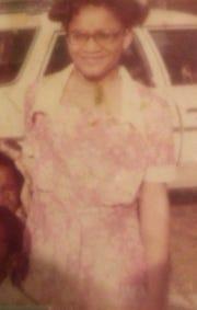 Karen Brockington at age 8 on an Easter Sunday in inner-city Baltimore