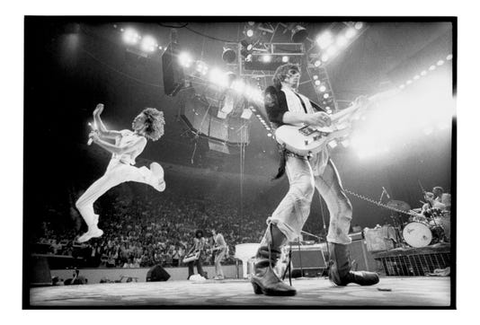 The Rolling Stones Philadelphia 1975 Picture Credit Annie Leibovitz From Annie Leibovitz At Work Page 33