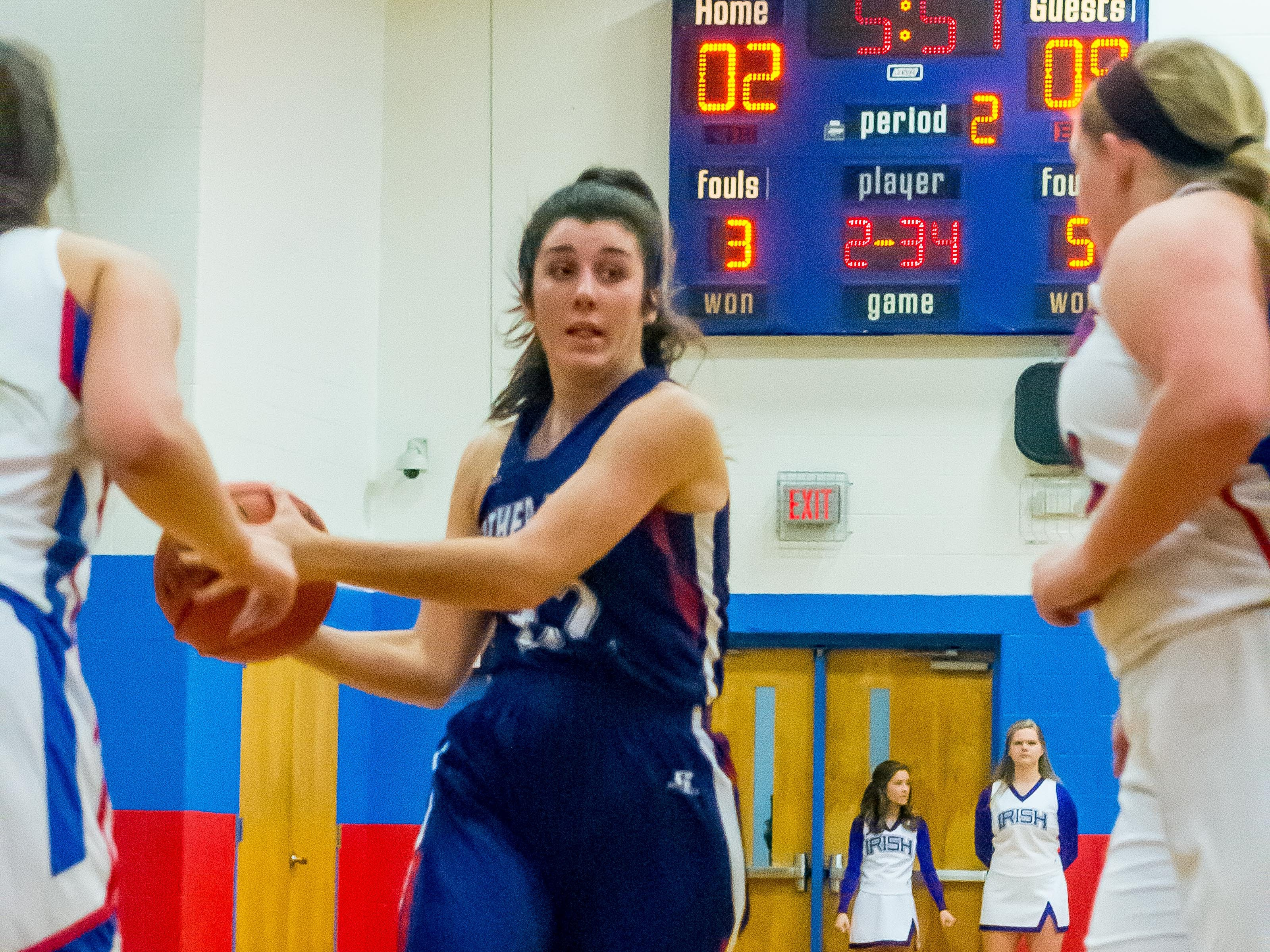 Father Ryan's Kate Hoots had eight points against Harpeth.
