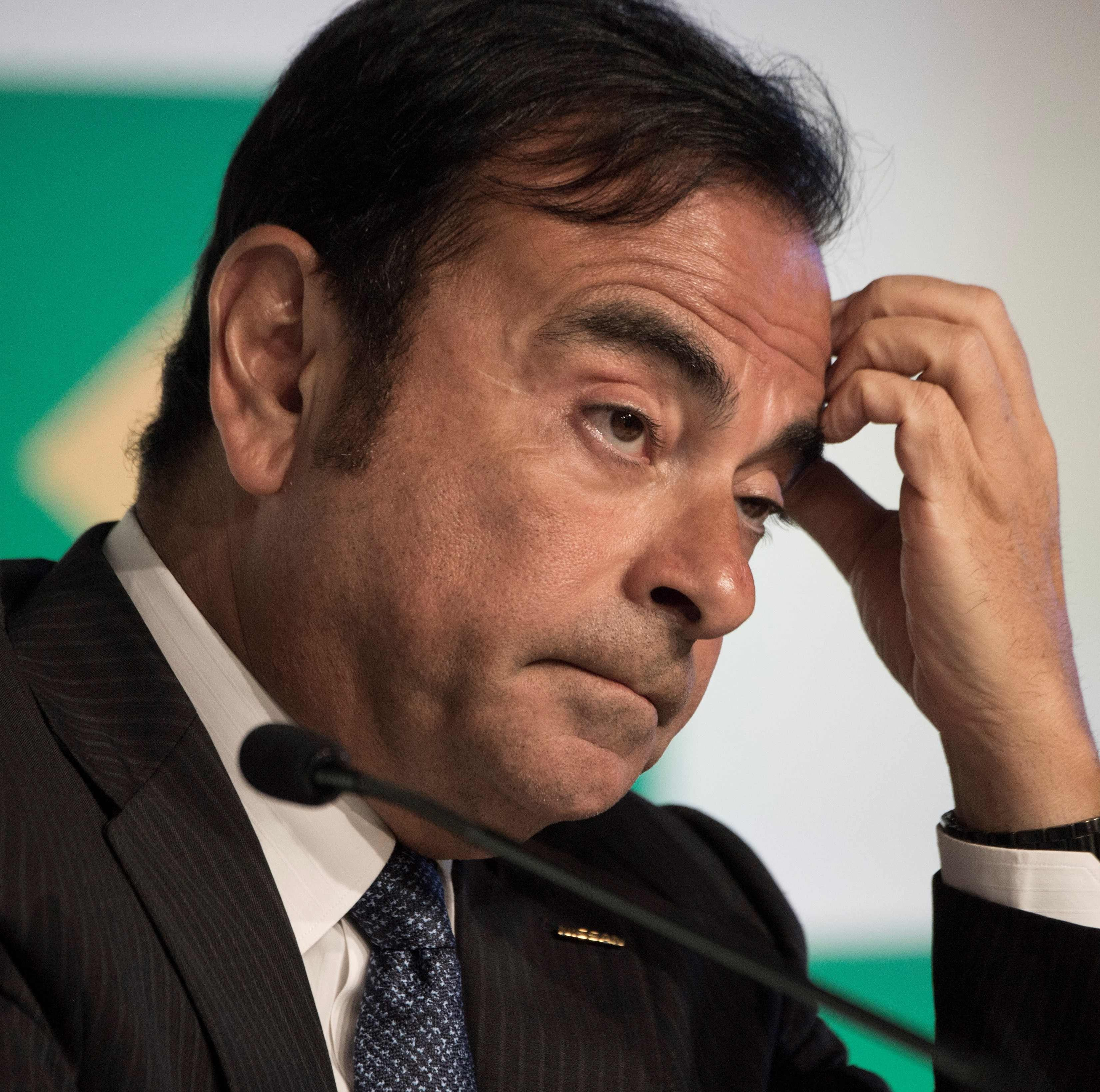 Nissan Chairman Carlos Ghosn, gesturing during a press conference at the company's Brazilian headquarters in downtown Rio de Janeiro on Jan. 4, 2016. Ghosn was arrested in Tokyo on Nov. 19, 2018. for financial misconduct, public broadcaster NHK and other Japanese media outlets reported.