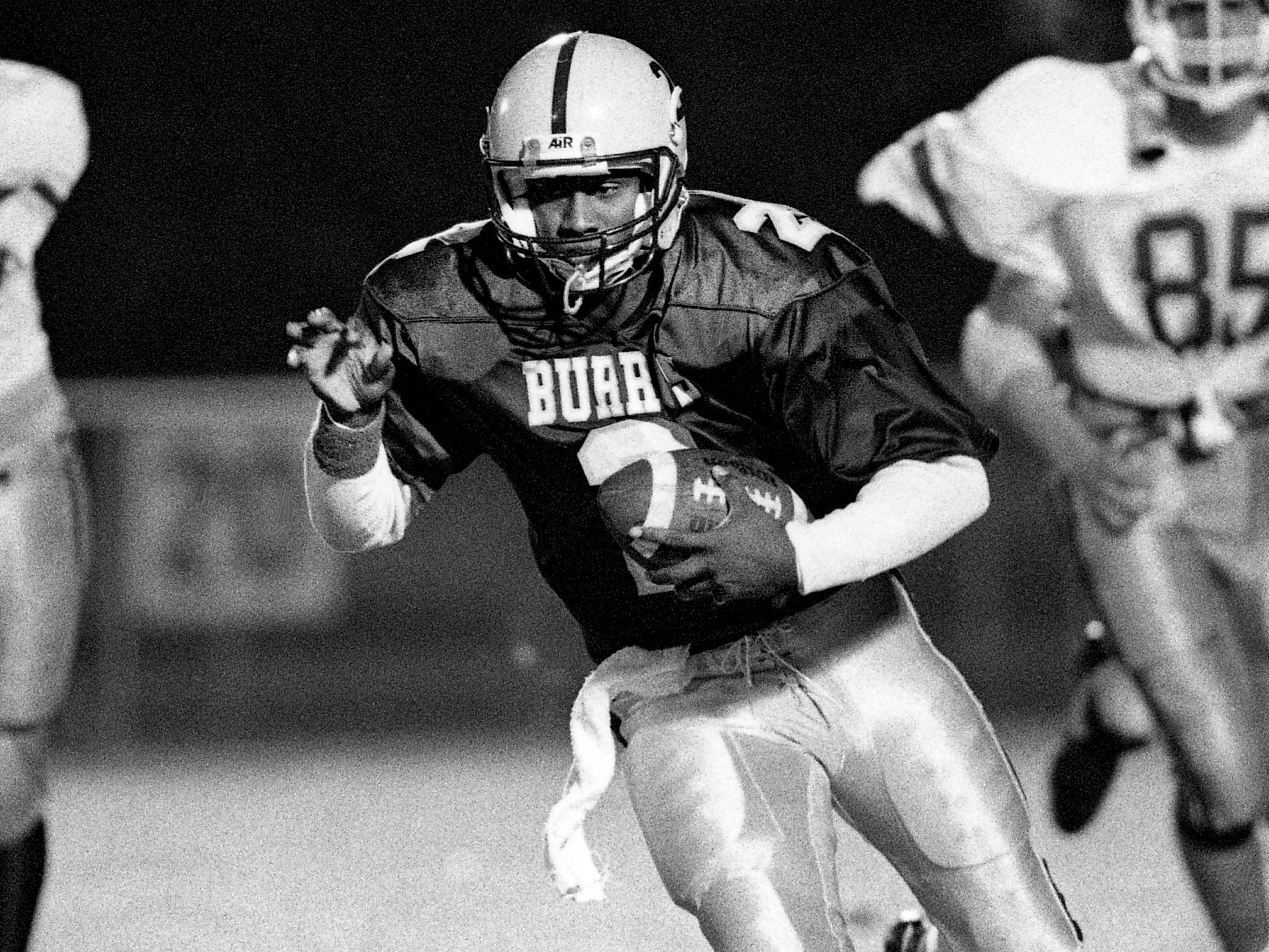 Mose Phillips, Hillsboro QB/DB 1987-89