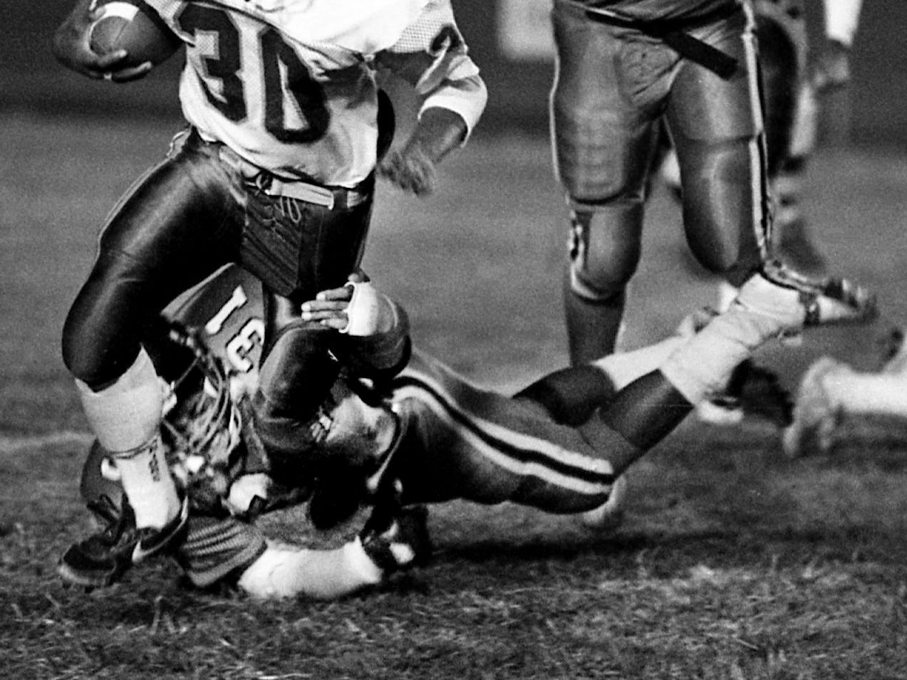 Shelton Quarles, Whites Creek LB 1987-89