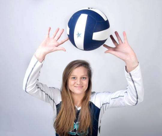 Sophia Bossong, Siegel volleyball