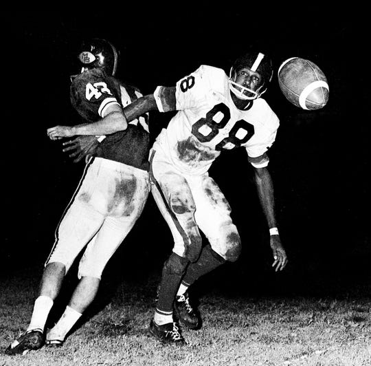 Lester McClain, Antioch RB/WR/DB 1964-66