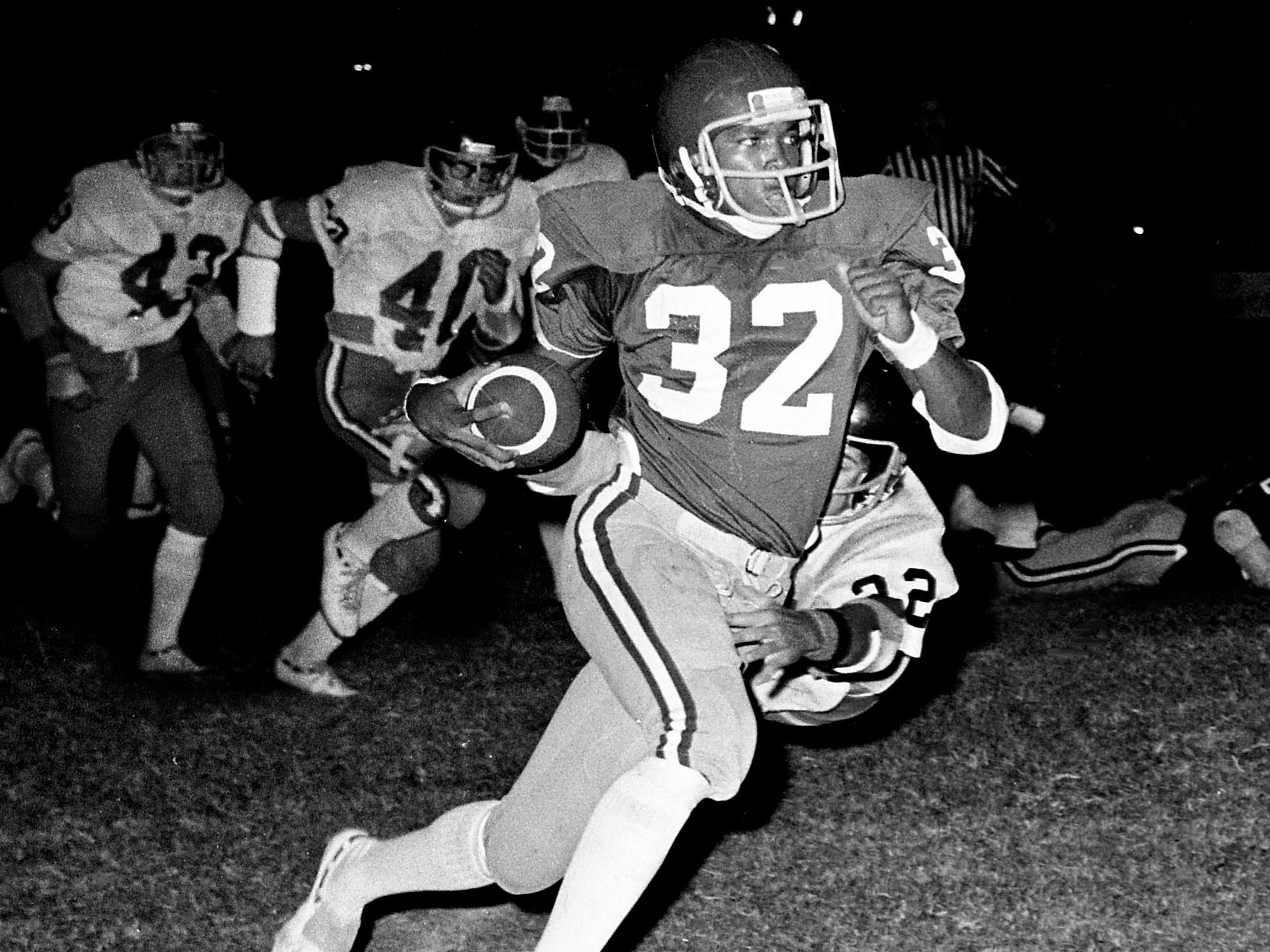Preston Brown, Maplewood WR 1973-75