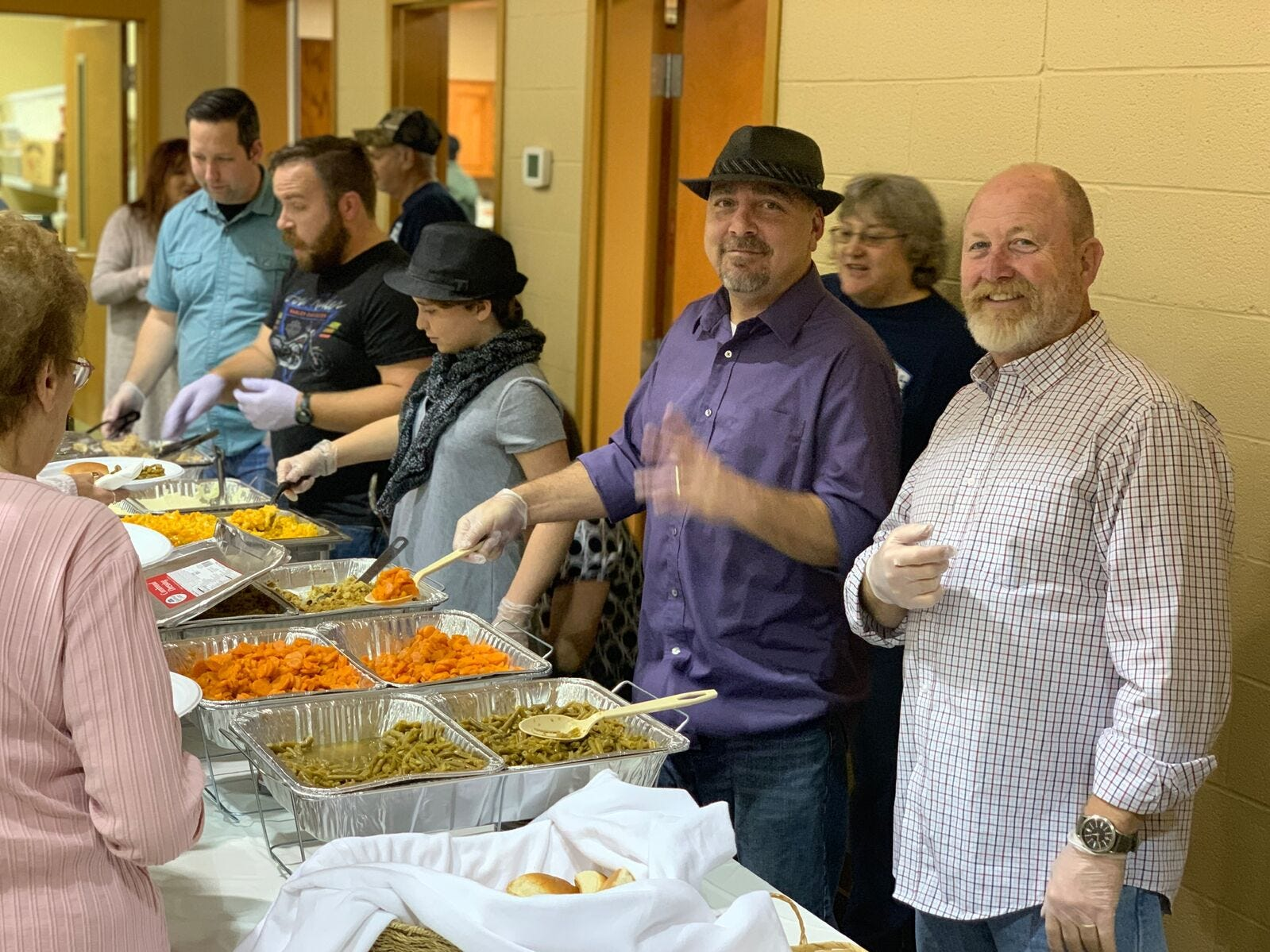 The Cheatham Ministerial Association hosted a free community Thanksgiving dinner at Gateway Church Assembly of God in Ashland City.