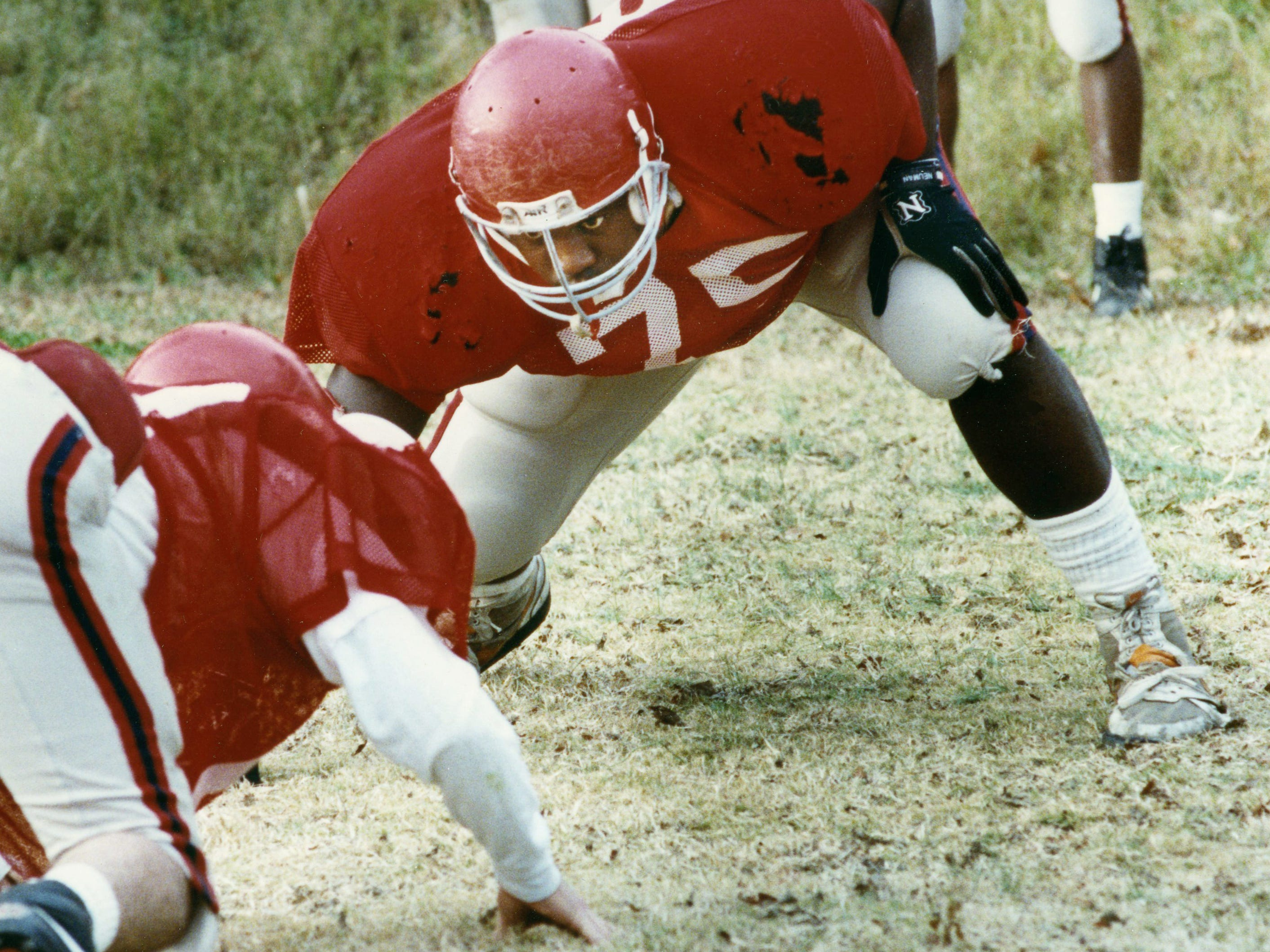 Bubba Miller, Brentwood Academy OG/DL 1988-90