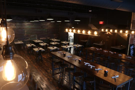 Stock & Barrel's Nashville restaurant is located on Gleaves Street in the Gulch.