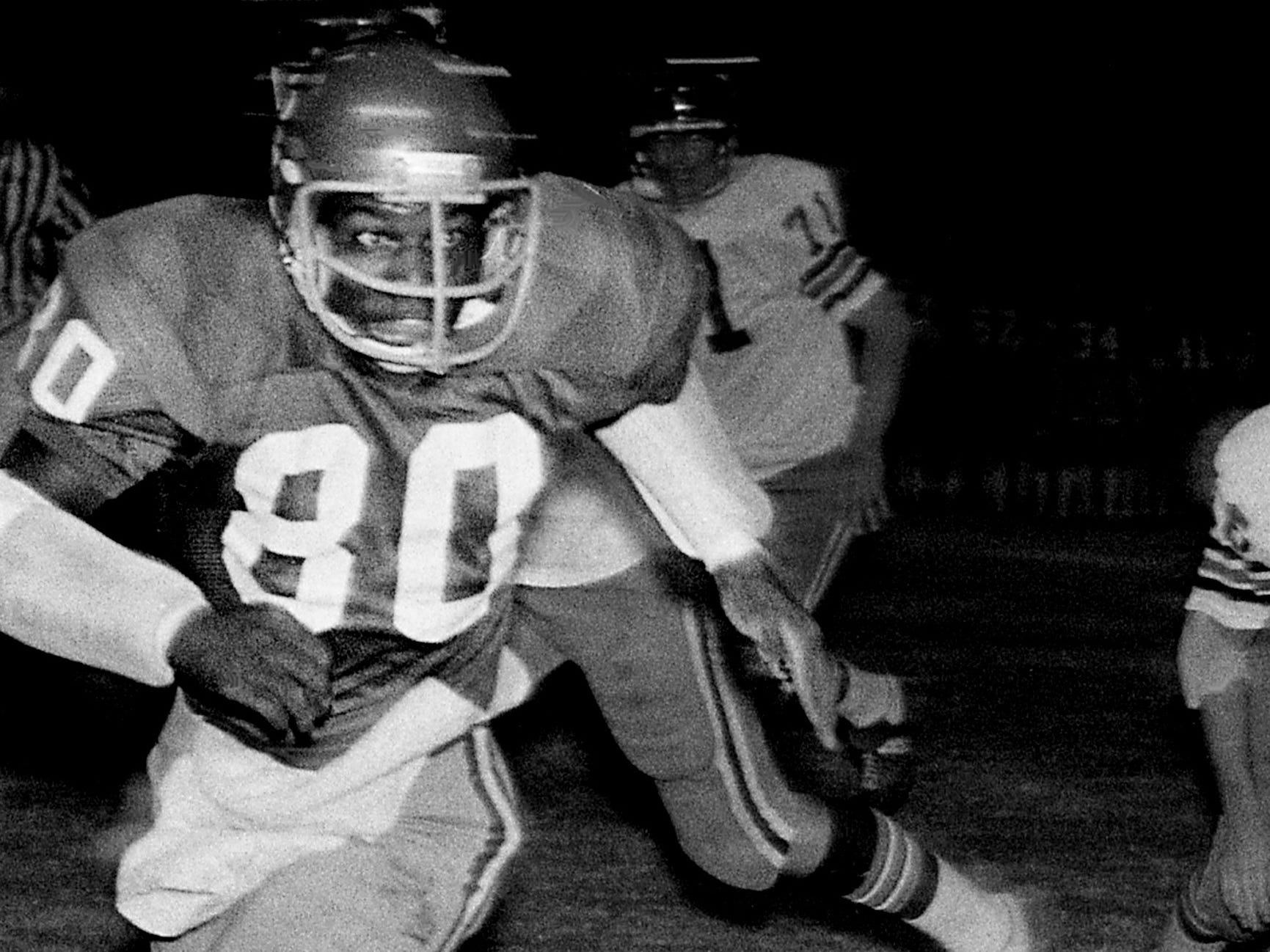 E.J. Junior, Maplewood TE/LB 1974-76