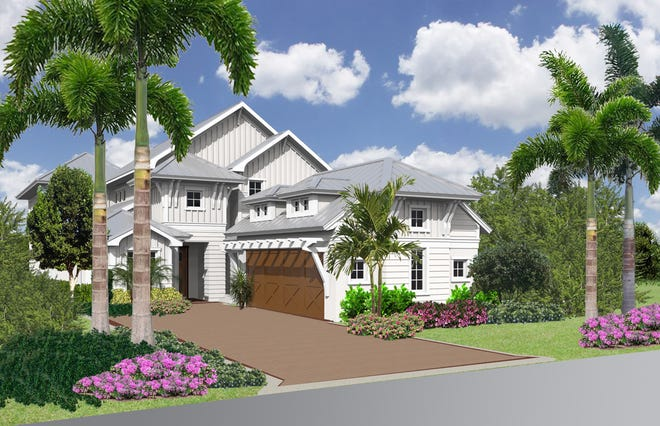 The Useppa model in The Cottages at Mangrove Bay will be furnished by Clive Daniel Home.