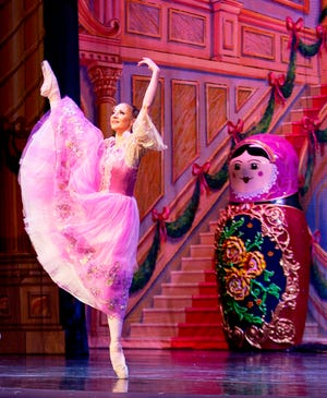 "Masha in the party scene of ""The Great Russian Nutcracker"""