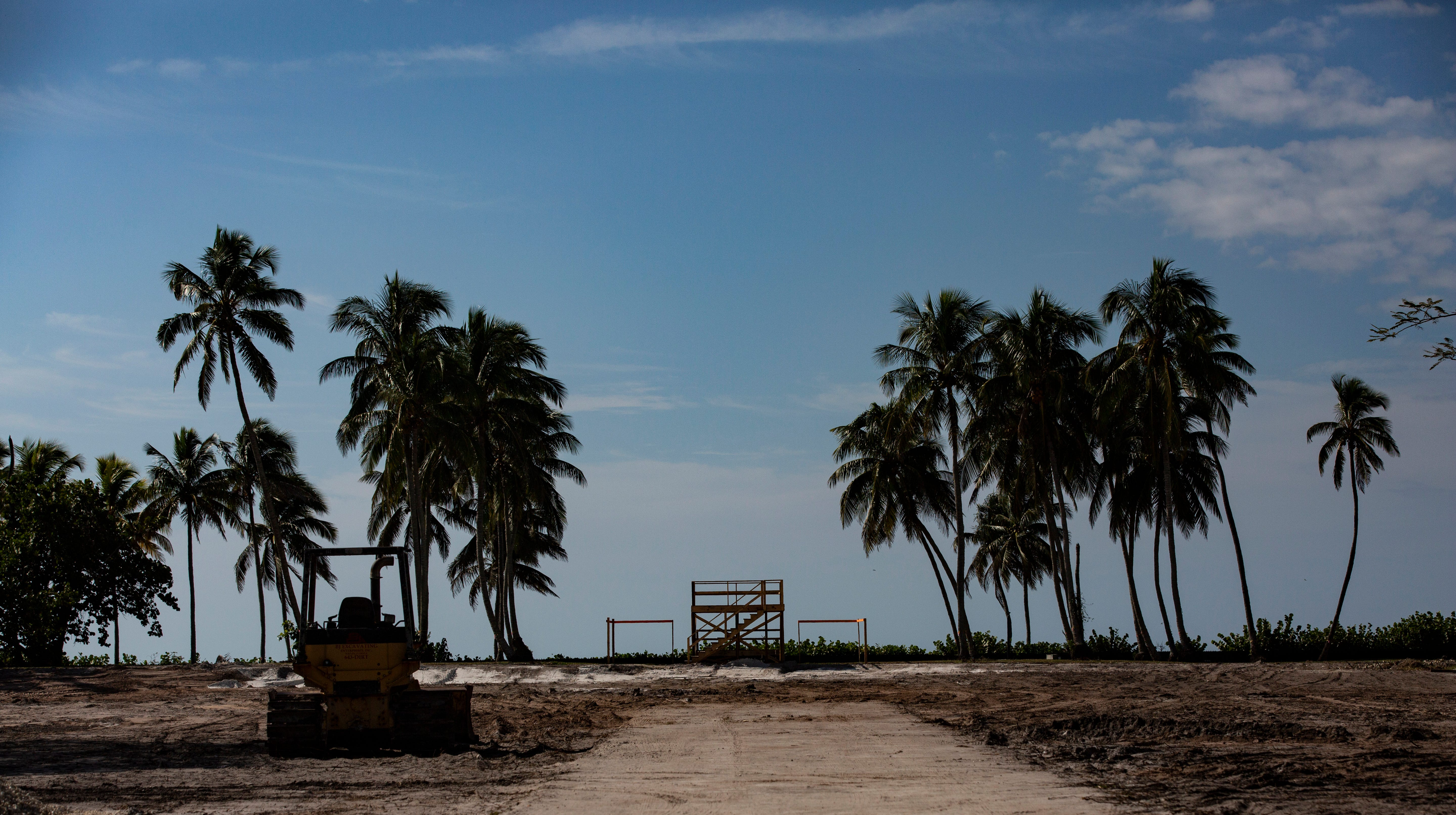 The bare lot where a $48.8 million home in Port Royal was recently torn down, photographed Monday, Nov. 19, 2018, in Naples. Homes that previously sat on that plot of land had welcomed presidents and many other dignitaries over the past 81 years.