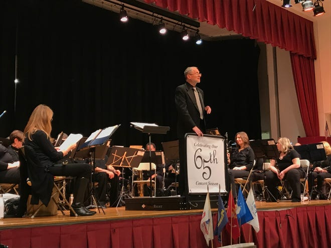 Ed Moderacki, seen at a performance on Sunday, Nov. 18, 2018, has conducted close to 800 concerts, 300 parades and 15,000 pieces of music with the Waldwick Community Band, which is marking its 65th anniversary.