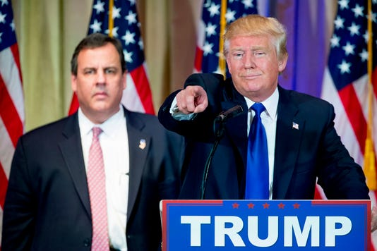 Donald Trump Chris Christie