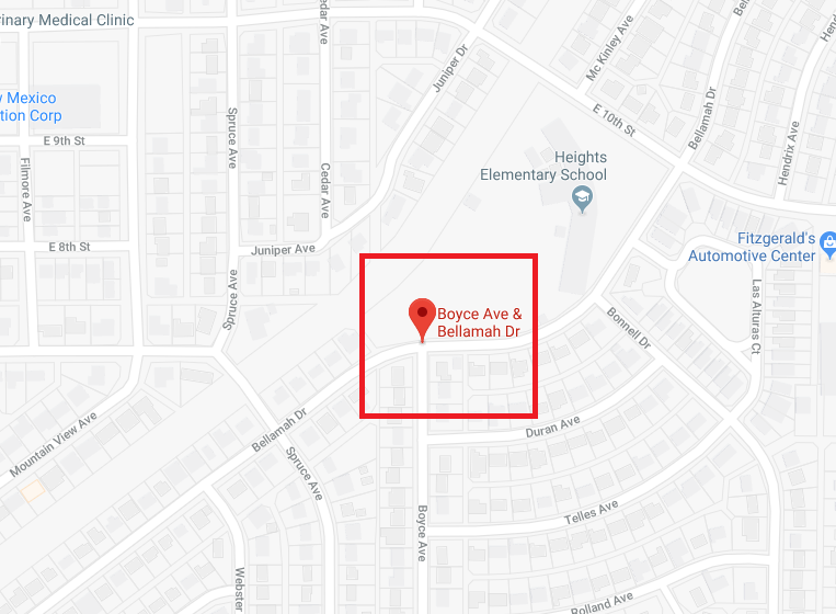 City of Alamogordo utility crews are currently responding to a water main break located at the intersection of Bellamah Drive and Boyce Avenue.