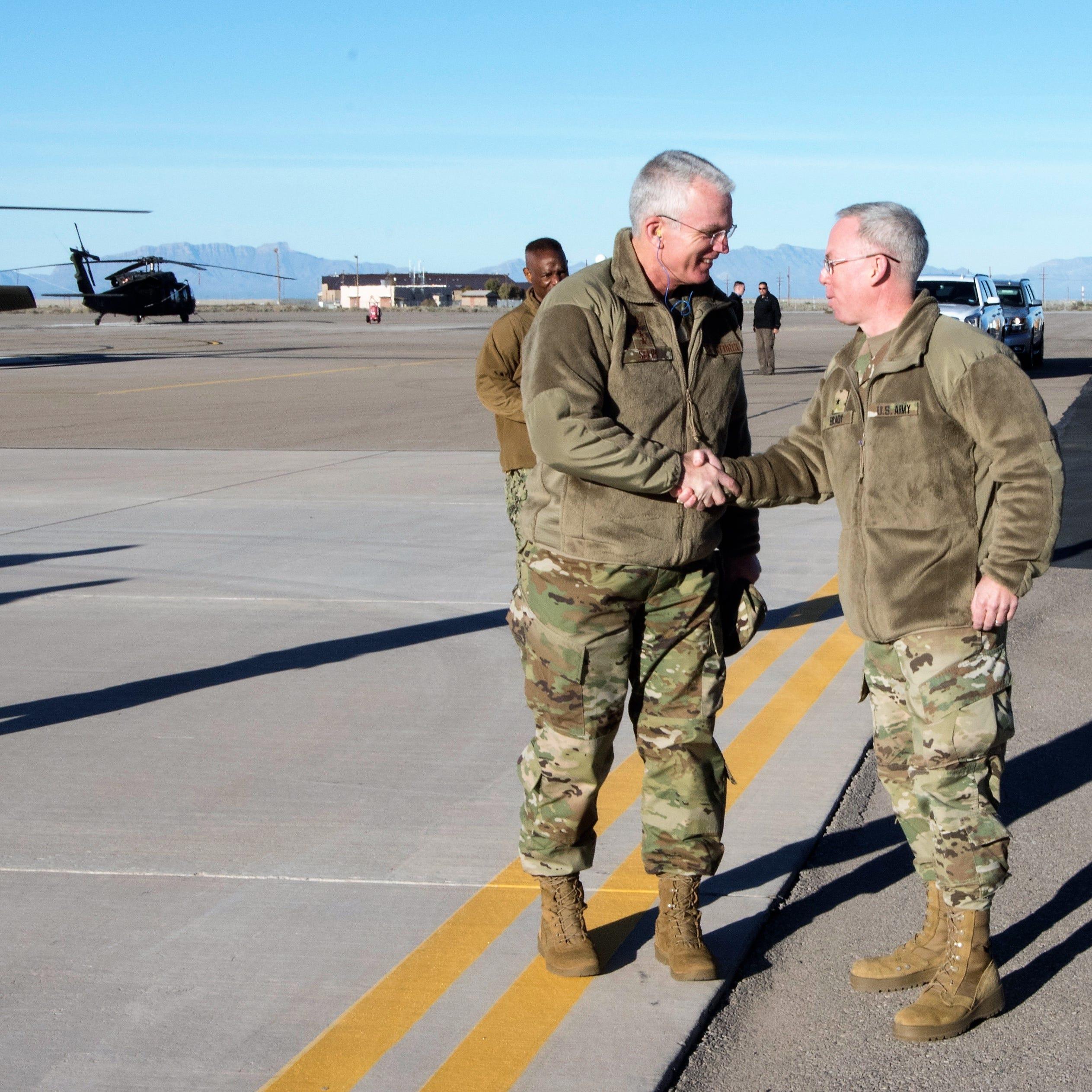 Gen. Selva visits Holloman