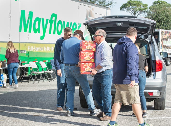 Help Fill the Mayflower the week of Thanksgiving with healthy food for families and children in need.