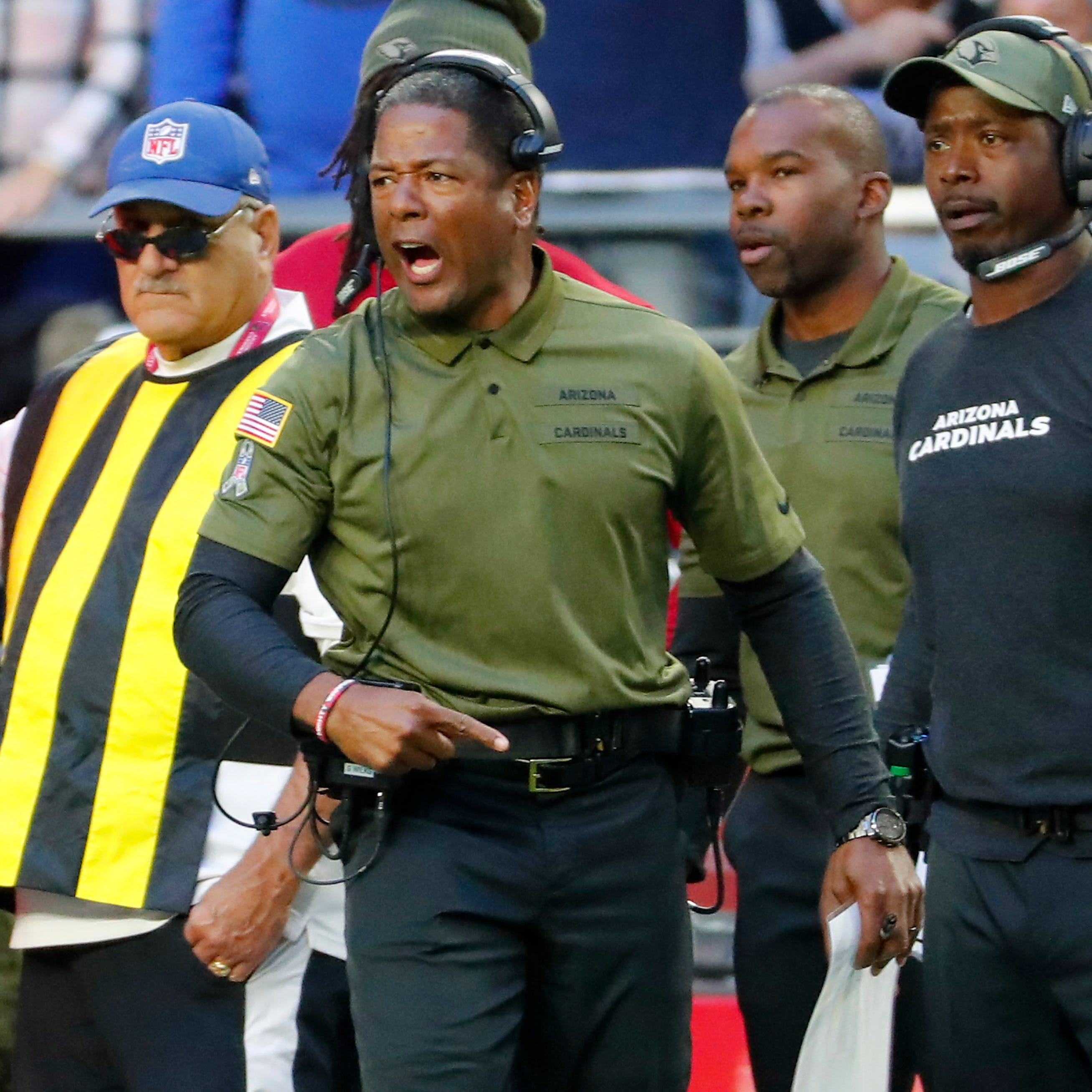 Cardinals' loss to Raiders could eventually cost coach Steve Wilks his job