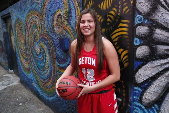 Chandler Seton Catholic Prep's Sara Pfeiffer was a nominee for Arizona High School Girls Basketball Player of the Year.