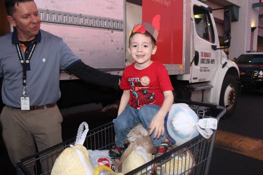 On Turkey Tuesday, drop off a turkey or canned food at any Bashas', Food City or A.J.'s Fine Foods or donate online at stvincentdepaul.net.