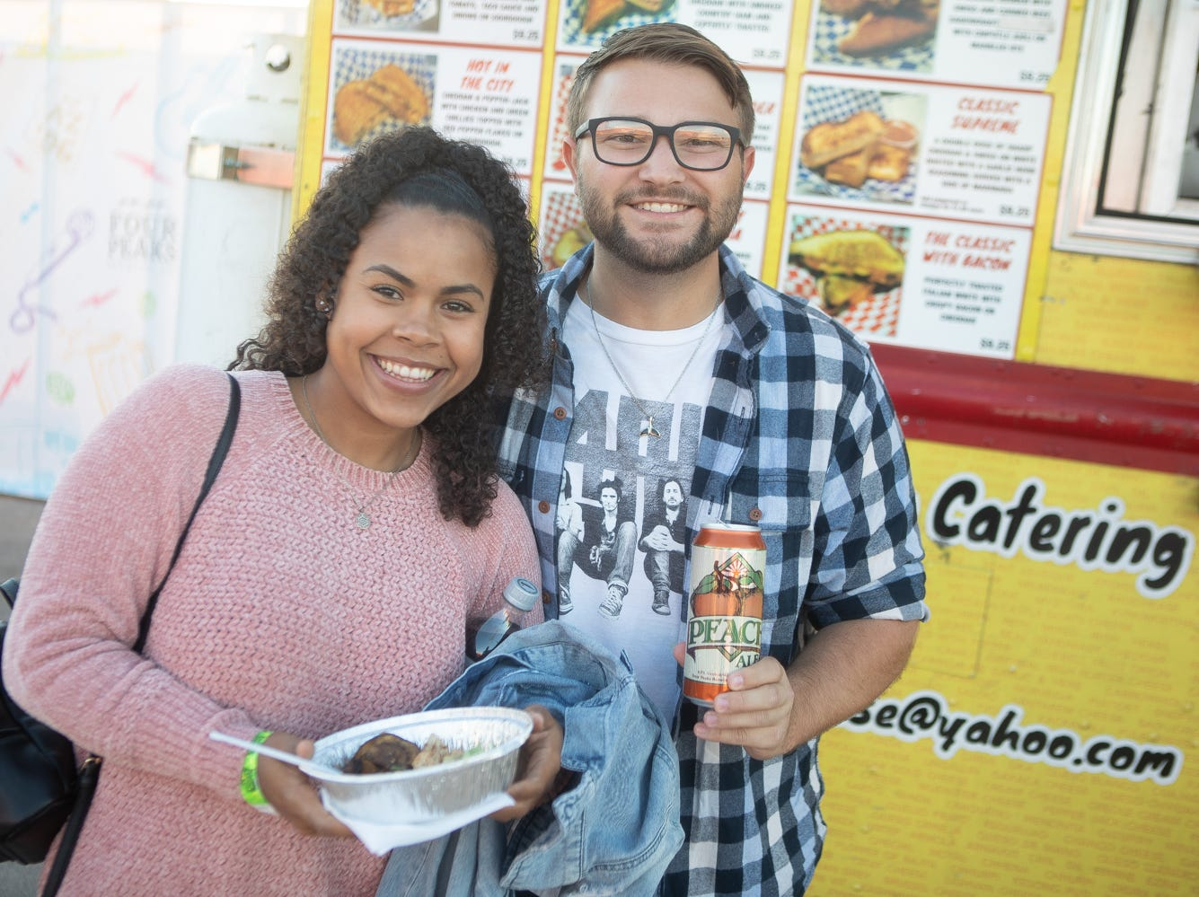 It wasn't hard to find a tasty beer or a good time at the Four Peaks' 21st Anniversary Party on Friday, Nov. 16, 2018, at Phoenix Rising Soccer Complex in Tempe.