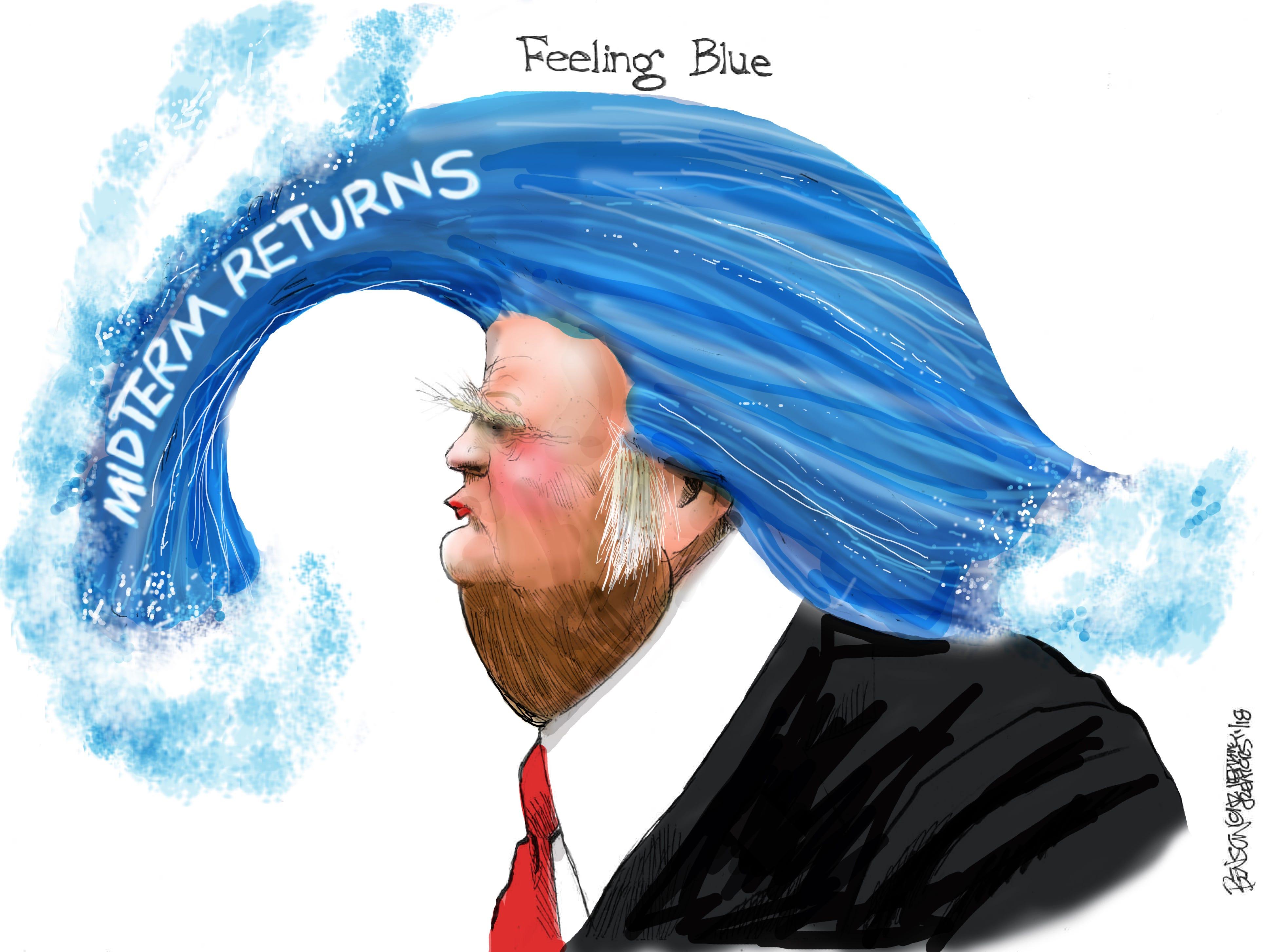 Cartoon for Nov. 19, 2018.
