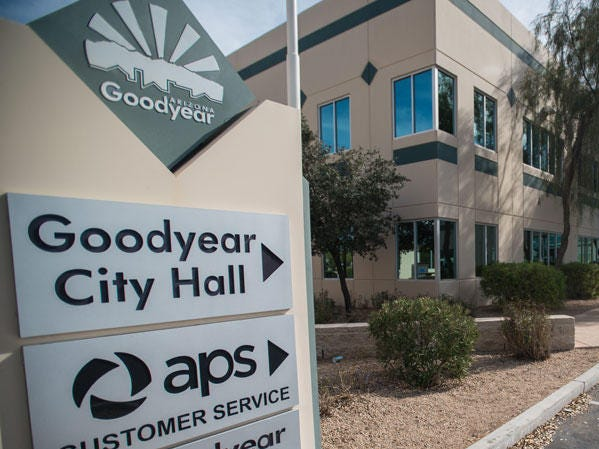 The City of Goodyear is the seventh-largest employer in the city, with 490 employees.
