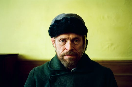 "Willem Dafoe plays Vincent van Gogh in ""At Eternity's Gate."""