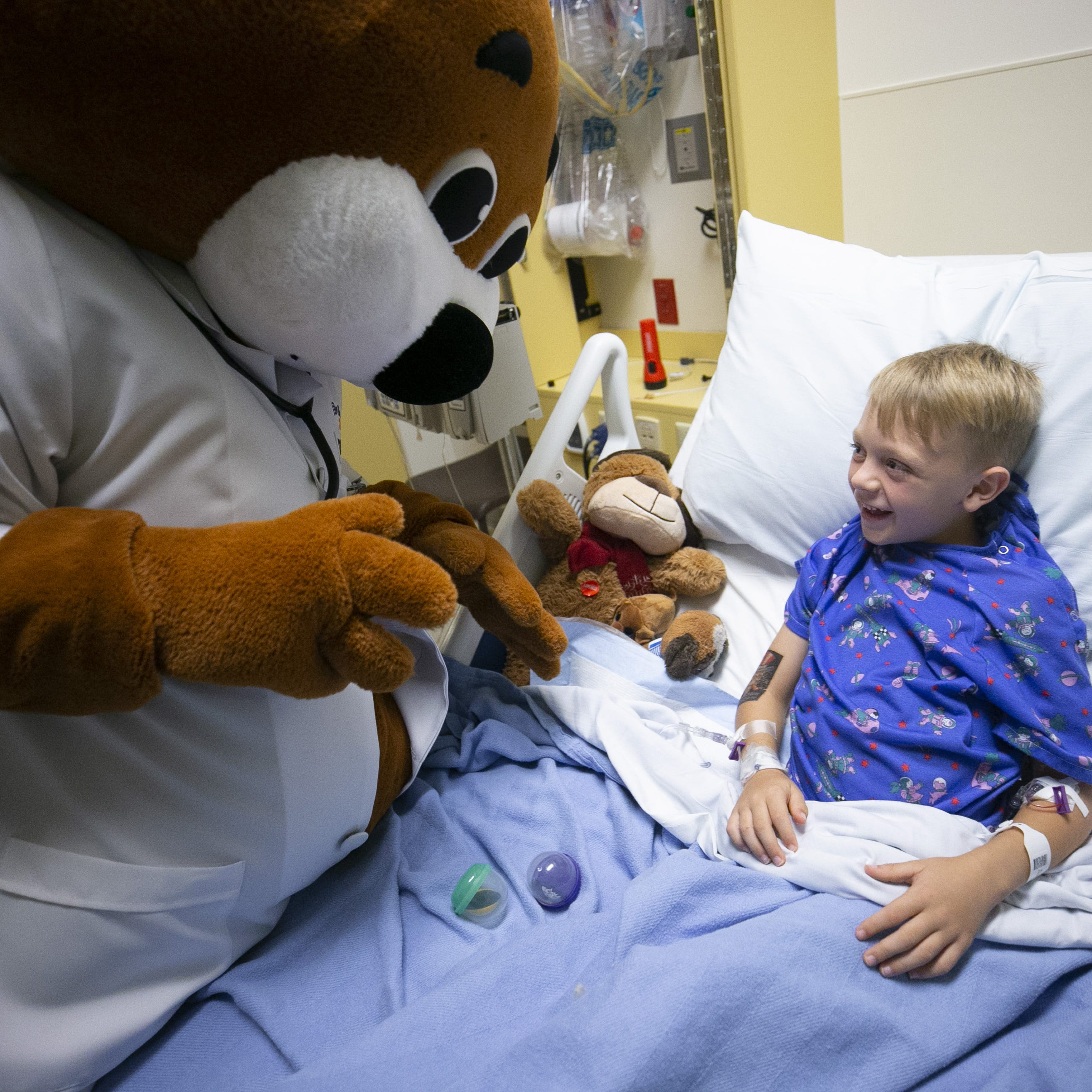 Why the woman behind Dr. Bear decided to give sick kids something to smile about